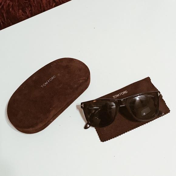"c9f0dd7ec97 Tom Ford ""Leo"" sunglasses (Unisex) ~ Tortoiseshell.  M 5b90959b5bbb801ef53eabe7"